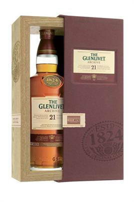 The Glenlivet Scotch Single Malt 21 Year Archive